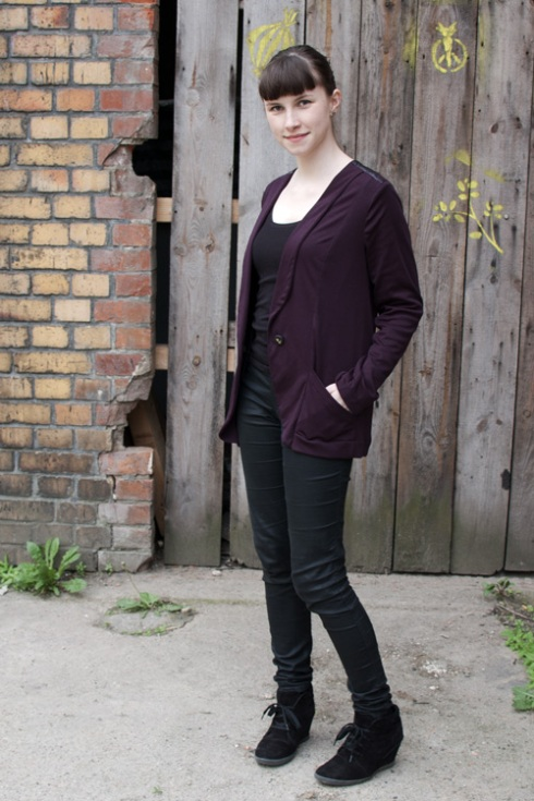 purple blazer frazer from CUT 8 with pockets